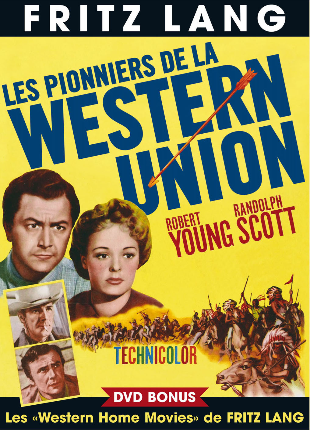 WESTERN UNION - film de LANG