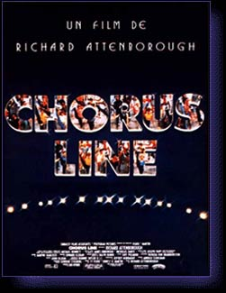 CHORUS LINE (A) - film de Attenborough